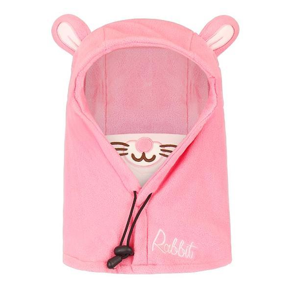キッズ 帽子 ニット帽子 冬 子供 防寒 耳当て付き あったかい 女の子 男の子 首保護 韓国風 ブルー ピンク コーヒー 防風 調節ボタン付き マスク付き|zakzak|18