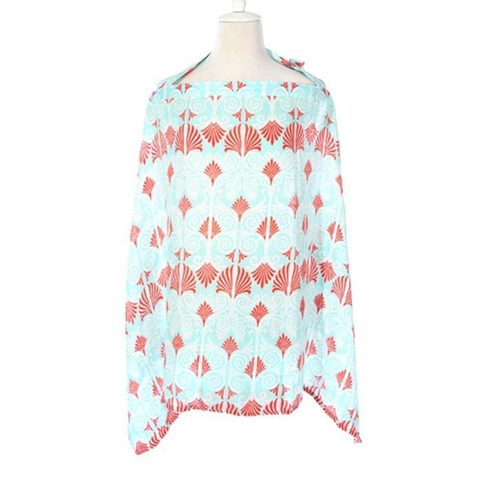 授乳ケープ ワイヤー ポンチョ 授乳服 安い 夏 ベビー用品 赤ちゃん コットン100% 綿 送料無料 ケープ かわいい おしゃれ zakzak 28