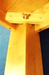 ネジ止め式の座卓・ろーテーブル