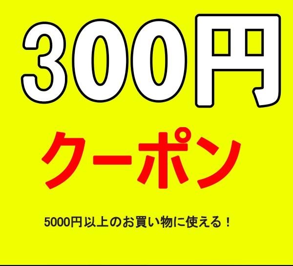 300円クポーン