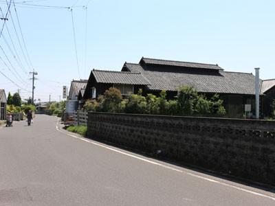 吉永酒造 芋焼酎 風景 工場 利八