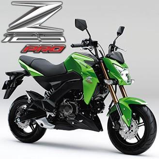 カワサキ Z125(PRO) 定番カスタムパーツまとめ