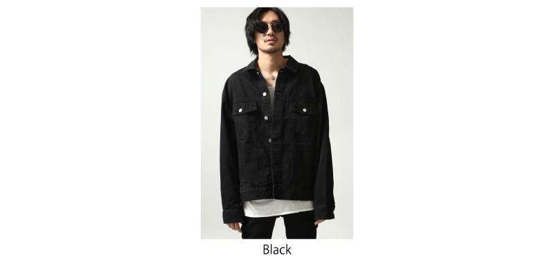 黑色牛仔夾克