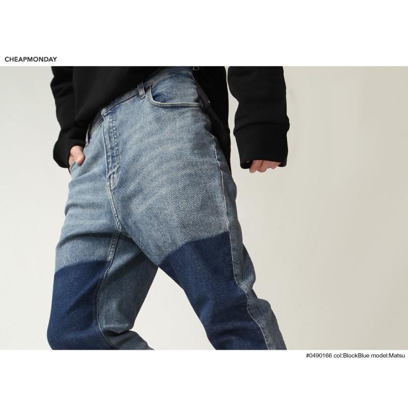 復古丹寧褲