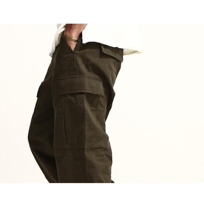 寬版工作褲