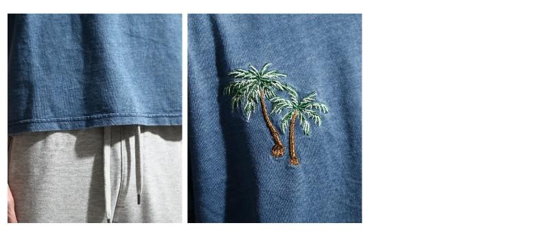 刺繡短袖Tee
