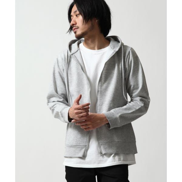ジップアップパーカー メンズ パーカー ジップアップ 裏起毛 無地 スウェット ファッション ポイント消化 ポイント消化 (14095)|zip|11