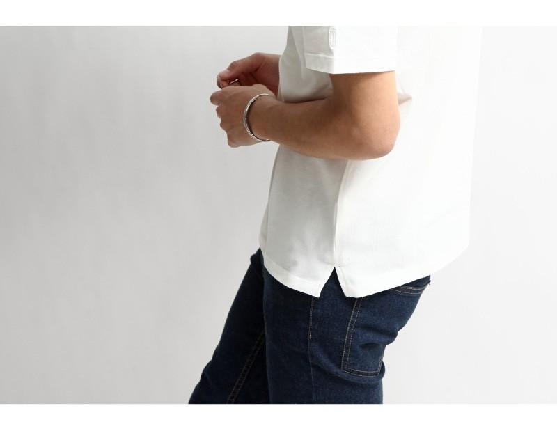 短袖巴斯克衫
