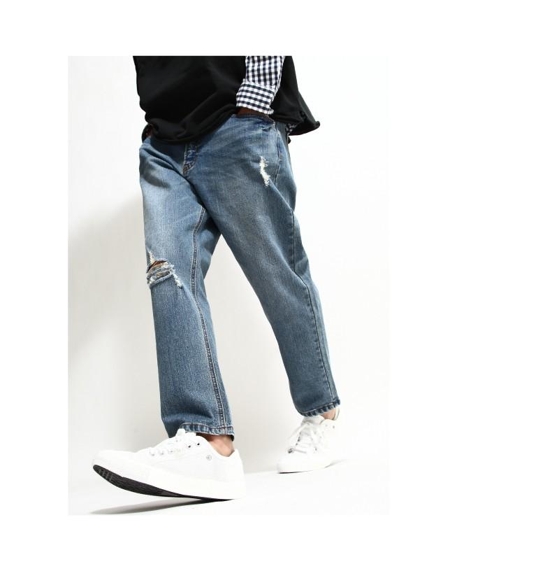 九分牛仔褲