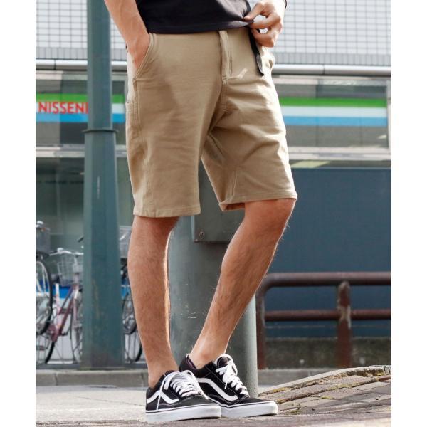 クライミングパンツ メンズ ハーフパンツ チノ デニム スウェットショーツ ショートパンツ イージー 無地 短パン ファッション ポイント消化 (18610)|zip|22