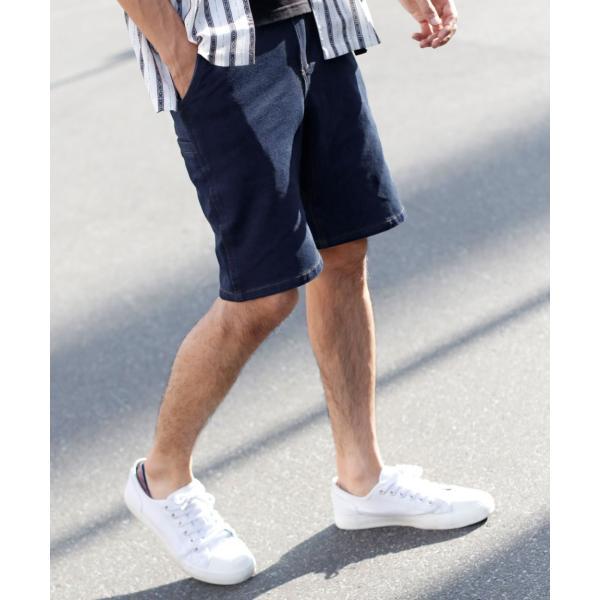 クライミングパンツ メンズ ハーフパンツ チノ デニム スウェットショーツ ショートパンツ イージー 無地 短パン ファッション ポイント消化 (18610)|zip|23