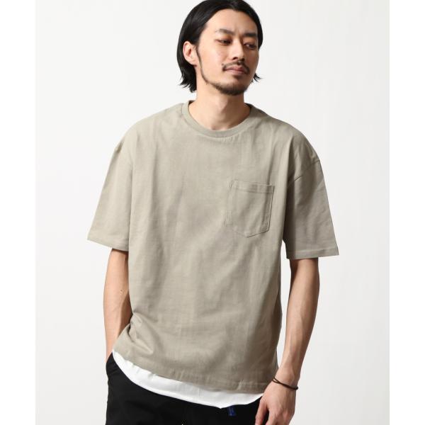 アンサンブル メンズ Tシャツ カットソー タンクトップ ロングタンクトップ レイヤード 無地 ファッション ポイント消化 (19002-11nz)|zip|18