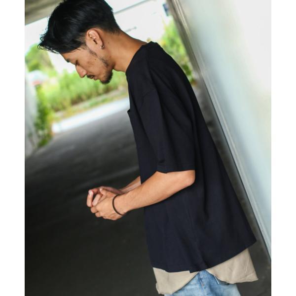 アンサンブル メンズ Tシャツ カットソー タンクトップ ロングタンクトップ レイヤード 無地 ファッション ポイント消化 (19002-11nz)|zip|20