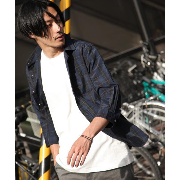 シャツ メンズ カジュアルシャツ リネンシャツ 麻 半袖シャツ 七分袖シャツ 白シャツ 綿麻 清涼 クール ファッション ポイント消化 (19006-12yz)|zip|24