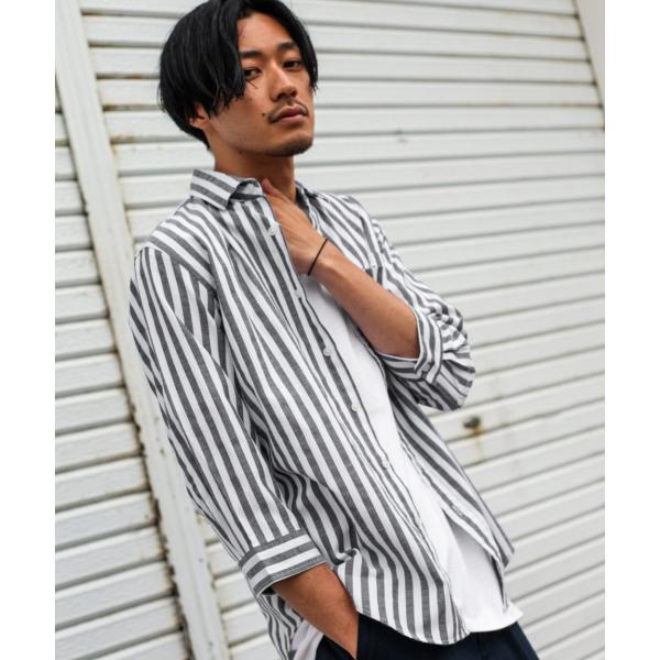 シャツ メンズ カジュアルシャツ リネンシャツ 麻 半袖シャツ 七分袖シャツ 白シャツ 綿麻 清涼 クール ファッション ポイント消化 (19006-12yz)|zip|31