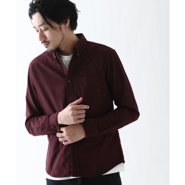 ボタンダウンシャツ メンズ カジュアルシャツ 日本製 オックスフォードシャツ シャツ 白シャツ ショート丈 綿 コットンシャツ 国産 (292003) D # zip 23
