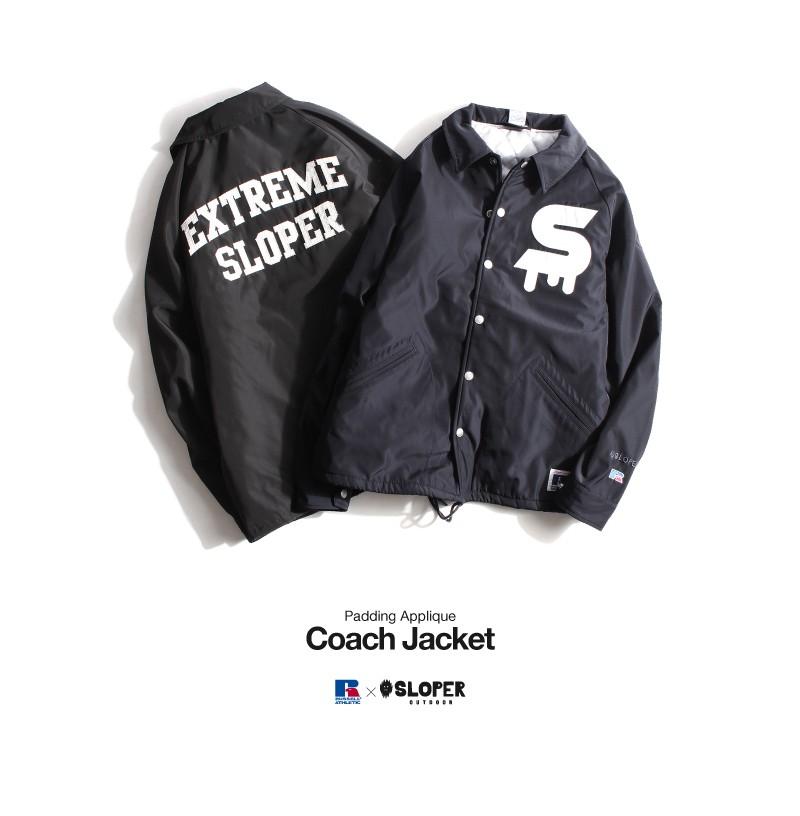 鋪棉教練夾克