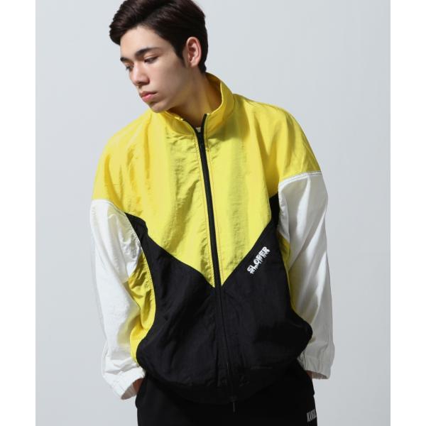 ジャケット メンズ ブルゾン ジャンパー ジャンバー 切替 スポーティ 無地 ロゴ ファッション (470206) zip 11