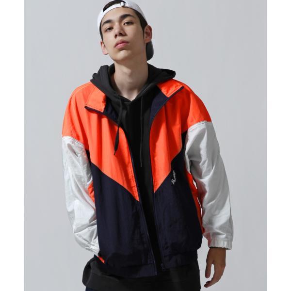 ジャケット メンズ ブルゾン ジャンパー ジャンバー 切替 スポーティ 無地 ロゴ ファッション (470206) zip 12