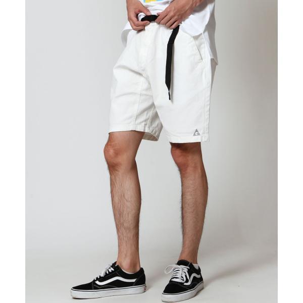 ショートパンツ メンズ ハーフパンツ クライミングパンツ デニム チノパン 短パン 無地 ワンポイント GERRY ジェリー ファッション (7558-7559)|zip|12