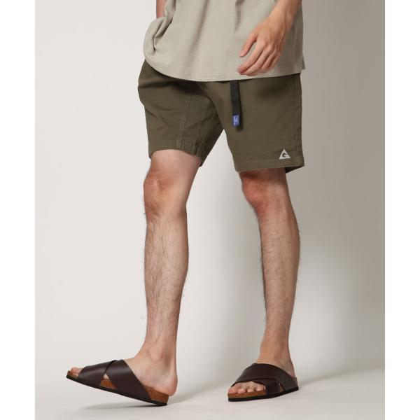 ショートパンツ メンズ ハーフパンツ クライミングパンツ デニム チノパン 短パン 無地 ワンポイント GERRY ジェリー ファッション (7558-7559)|zip|13