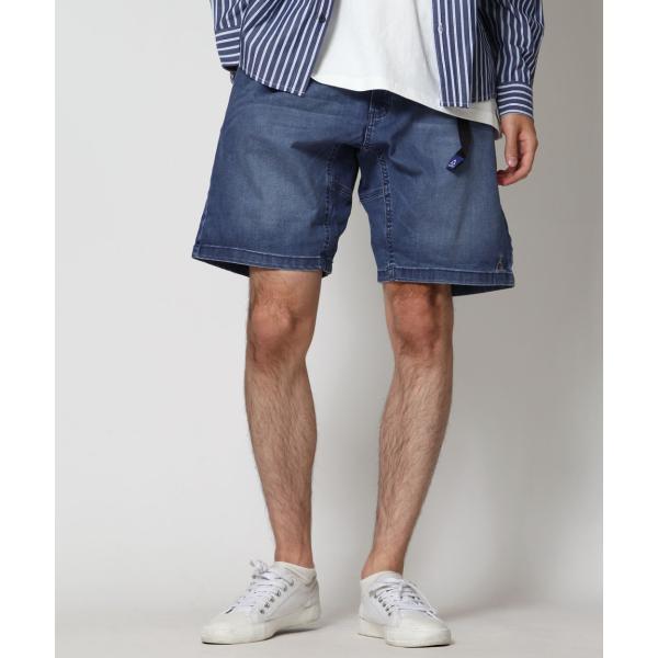 ショートパンツ メンズ ハーフパンツ クライミングパンツ デニム チノパン 短パン 無地 ワンポイント GERRY ジェリー ファッション (7558-7559)|zip|16