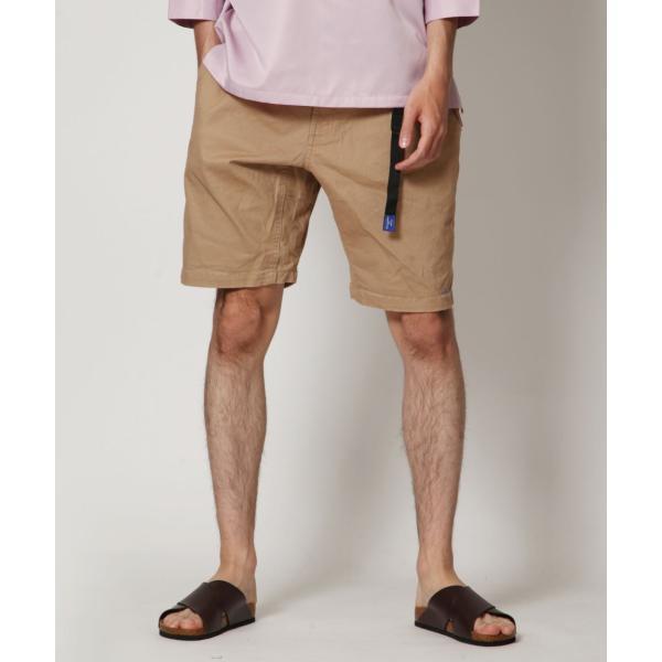 ショートパンツ メンズ ハーフパンツ クライミングパンツ デニム チノパン 短パン 無地 ワンポイント GERRY ジェリー ファッション (7558-7559)|zip|17