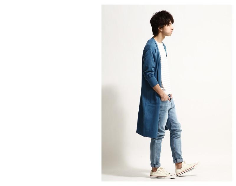 長版針織外套