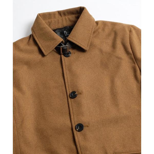 コート メンズ ピーコート ダッフルコート シングル メルトン Pコート ショート丈 ウールコート 学生 無地 グレンチェック ファッション (br1000) D|zip|33