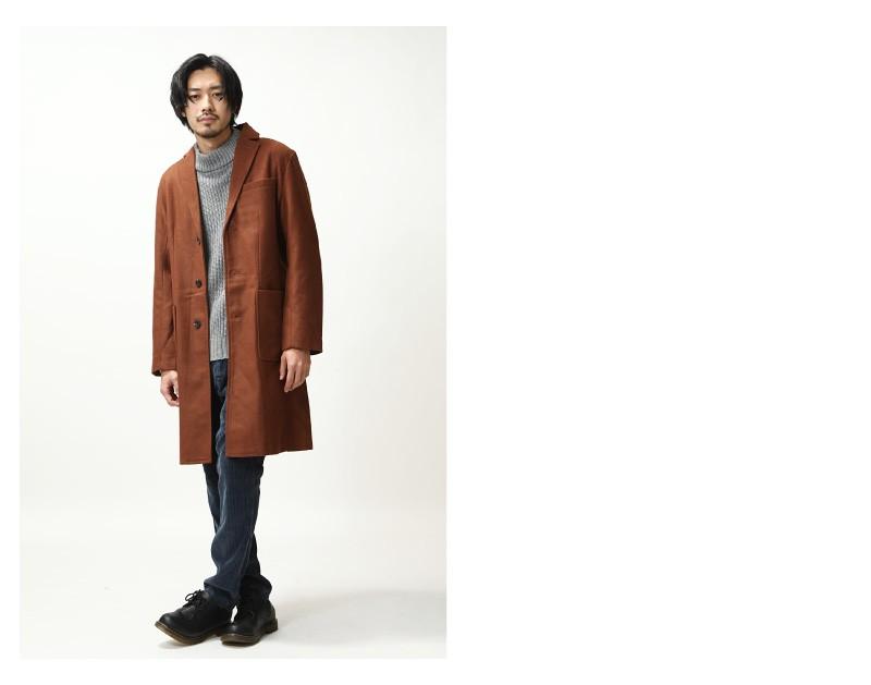 羊毛長大衣