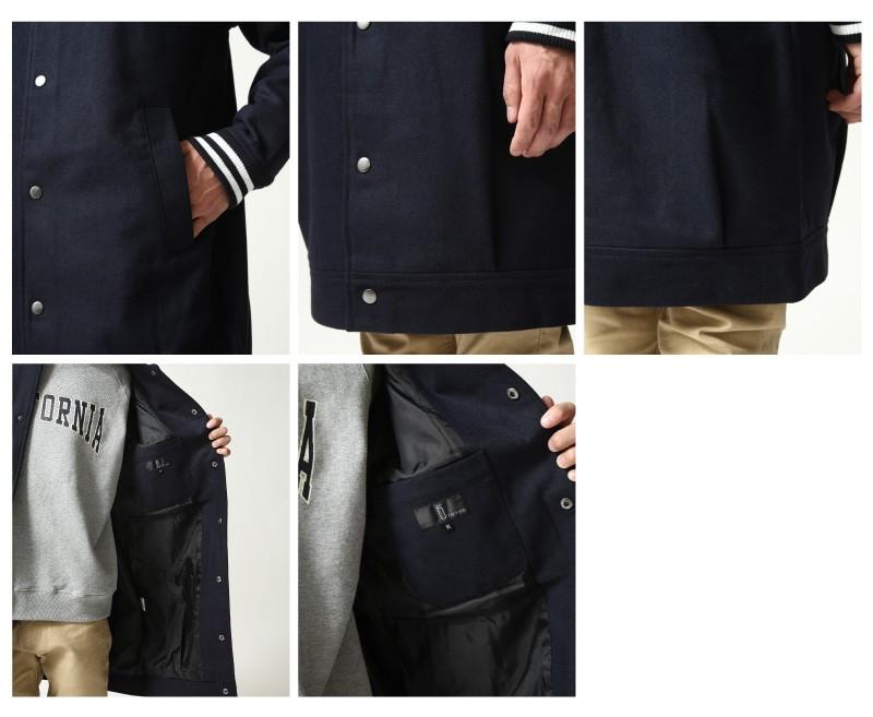 長版棒球外套
