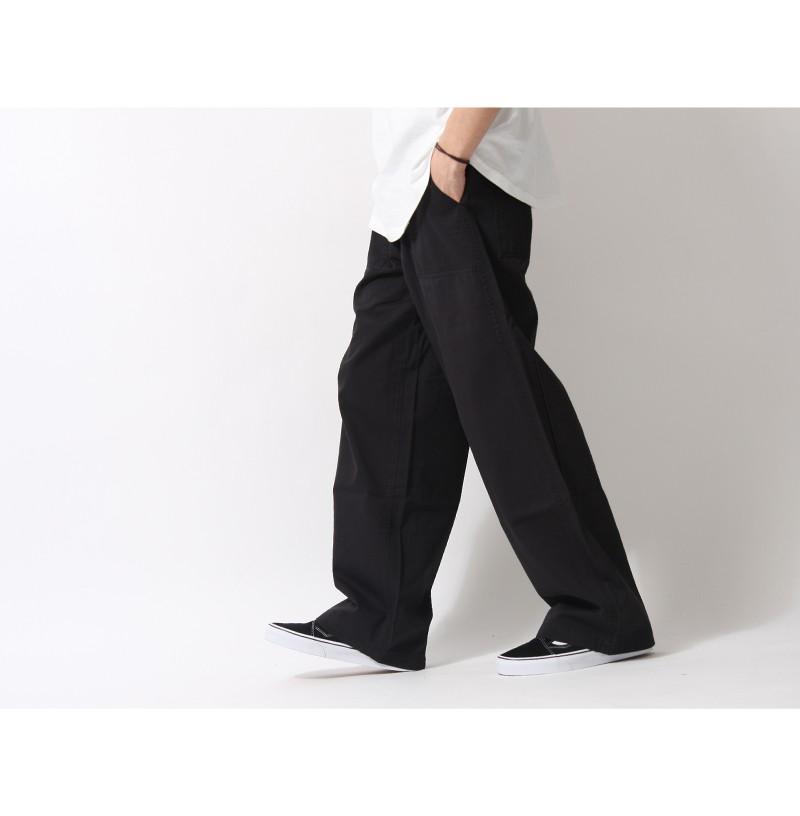 寬版軍風工作褲閒長褲Baker Pant