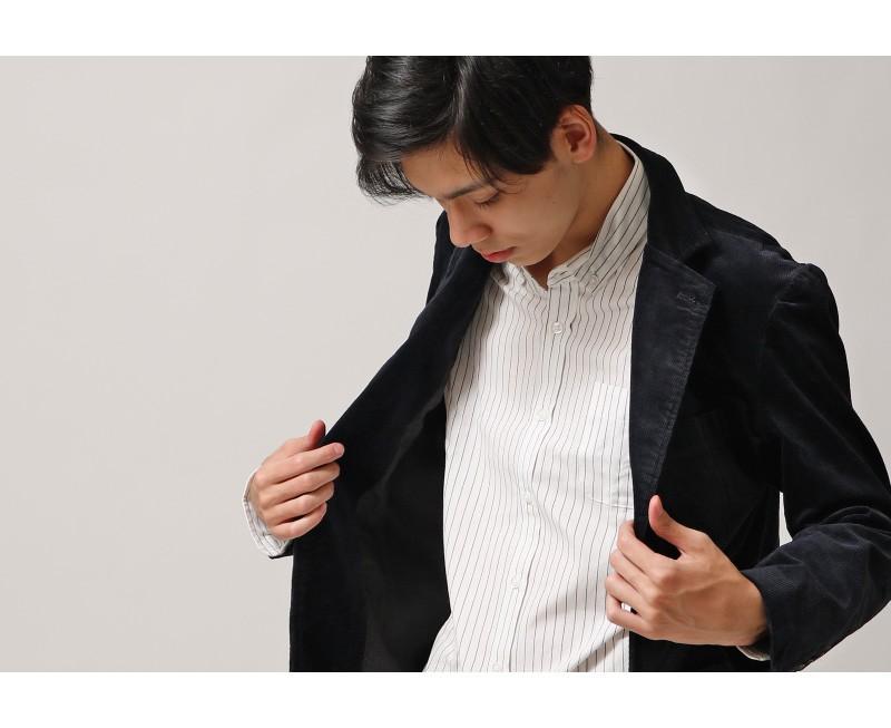 燈芯絨西裝外套