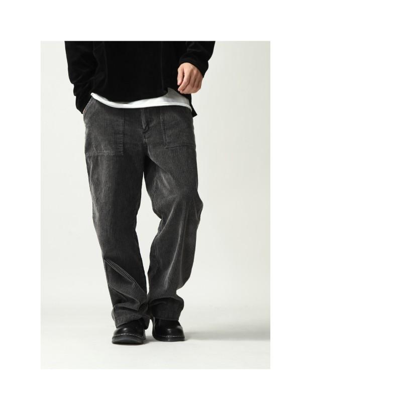 燈芯絨工作褲