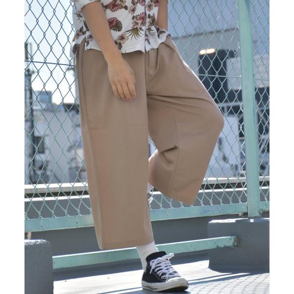 ワイドパンツ メンズ ボトムス ガウチョパンツ ズボン サスペンダー スラックス ビッグシルエット ゆったり ファッション 2019 新作 (br9011) D|zip|24