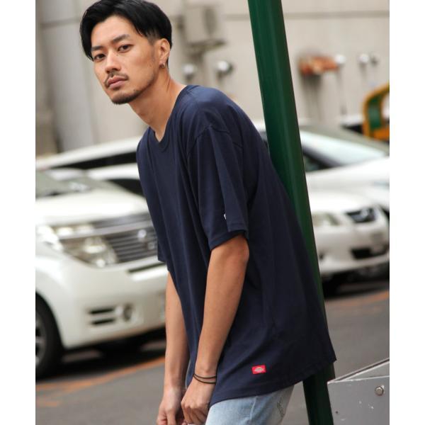 Tシャツ メンズ Tee カットソー 半袖 ワッペン ロゴ シンプル ワンポイント Dickies ディッキーズ 大きいサイズ ビッグ ファッション ポイント消化 (dk006380) D|zip|19