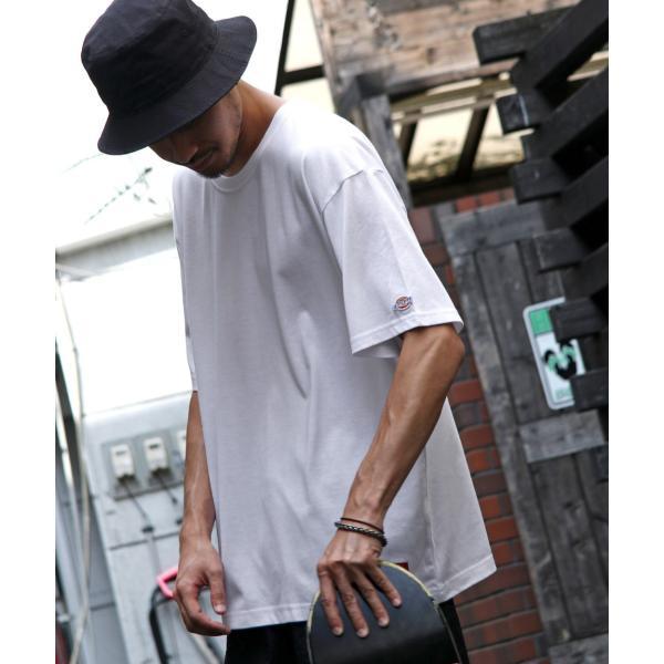 Tシャツ メンズ Tee カットソー 半袖 ワッペン ロゴ シンプル ワンポイント Dickies ディッキーズ 大きいサイズ ビッグ ファッション ポイント消化 (dk006380) D|zip|20