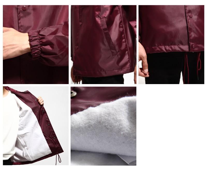 防潑水教練夾克