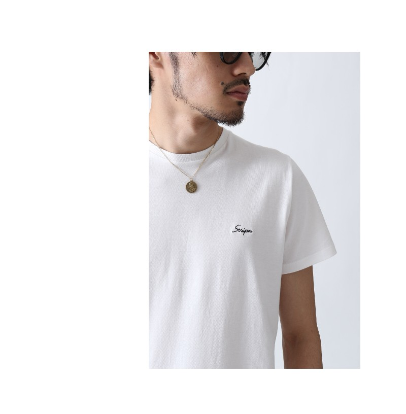 刺繡LOGO短袖T恤