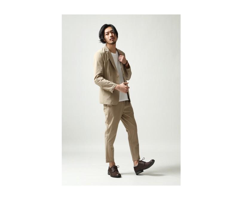 西裝外套九分褲成套